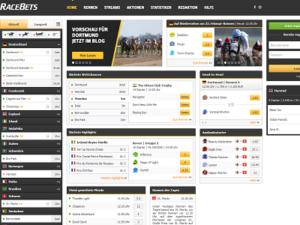 Screenshot Racebets