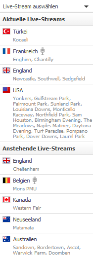 Racebets Live Streams