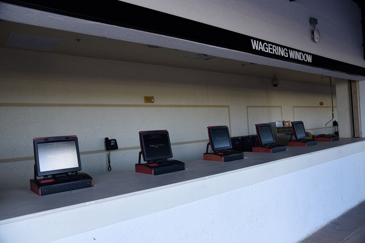 Wagering Windows at Gulfstram Park
